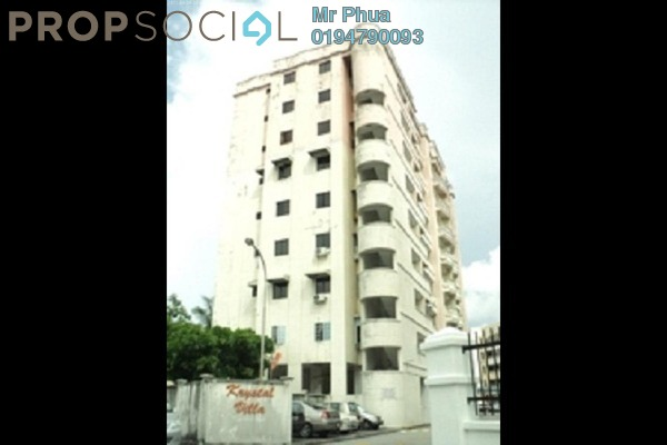 Apartment For Sale in Krystal Villa, Sungai Nibong Freehold Fully Furnished 3R/2B 419k