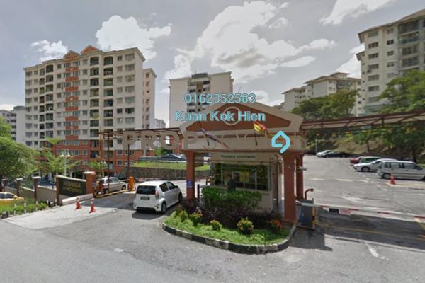 Apartment For Sale in Kenanga Apartment, Pusat Bandar Puchong Freehold Semi Furnished 3R/2B 408k