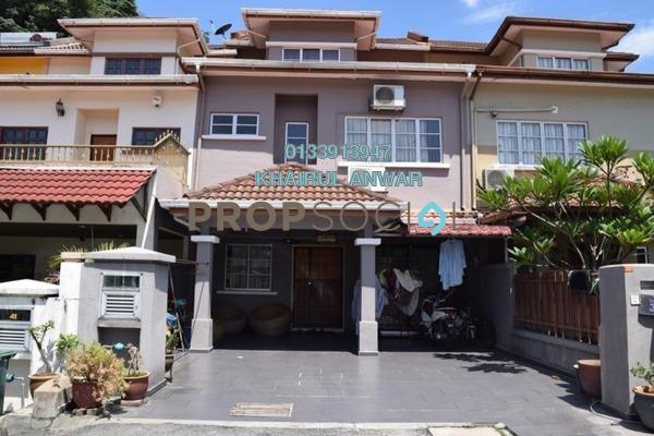 Terrace For Sale in Taman Setiawangsa, Setiawangsa Freehold Semi Furnished 5R/4B 1m