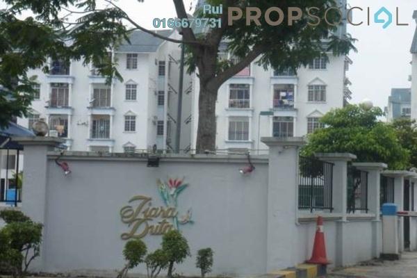 Condominium For Rent in Tiara Duta, Ampang Leasehold Semi Furnished 3R/2B 1.6k