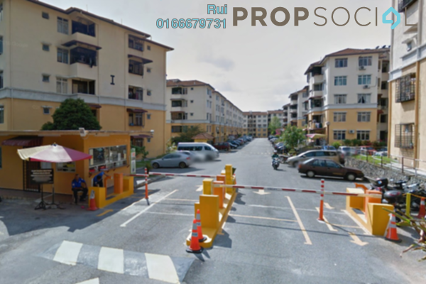 Condominium For Rent in Sri Baiduri, Ampang Leasehold Semi Furnished 3R/2B 1.1k