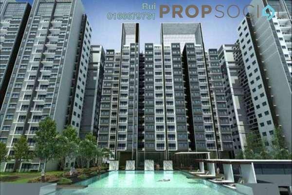 Condominium For Rent in Residensi Alami, Shah Alam Freehold Semi Furnished 3R/2B 1.8k