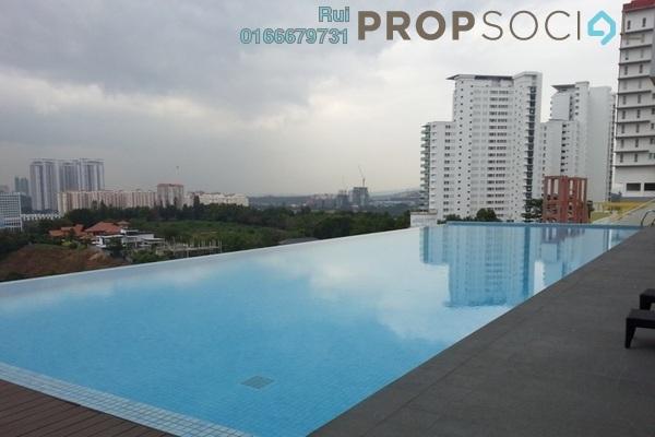 SoHo/Studio For Rent in Neo Damansara, Damansara Perdana Leasehold Semi Furnished 1R/1B 1.3k