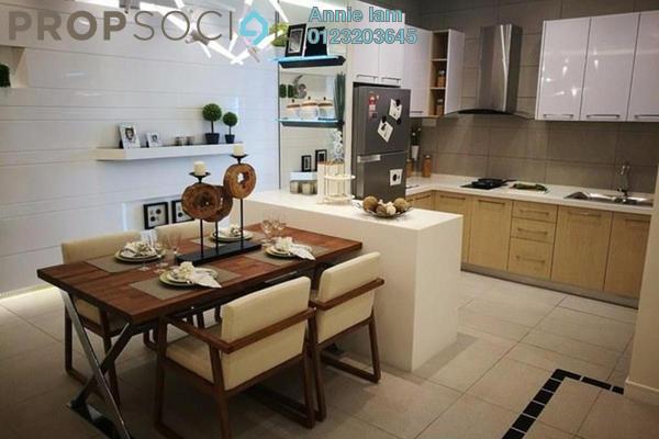 Serviced Residence For Sale in Mines Resort City, Seri Kembangan Leasehold Semi Furnished 2R/2B 410k