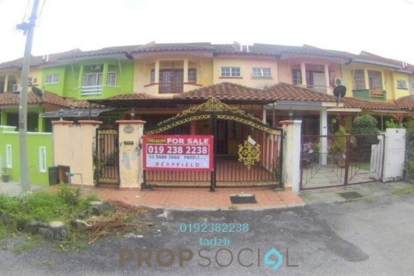 For Sale Terrace at Saujana Puchong, Puchong Freehold Semi Furnished 4R/3B 505k