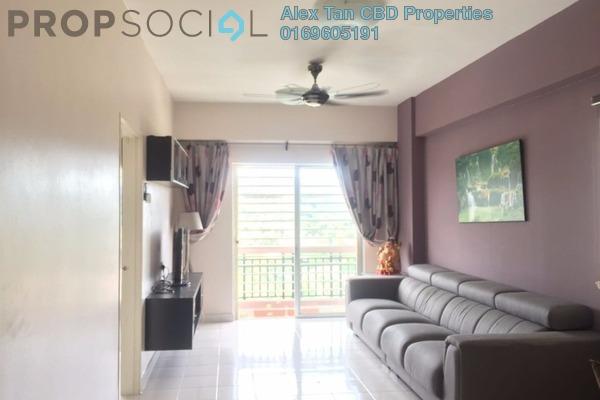 Condominium For Rent in Langat Jaya, Batu 9 Cheras Freehold Fully Furnished 3R/2B 1.3k