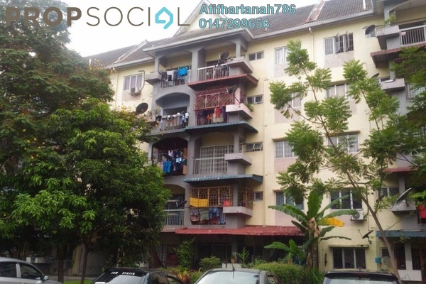 Apartment For Sale in Taman Sri Muda, Shah Alam Freehold Unfurnished 3R/2B 195k