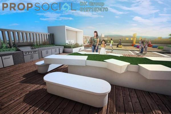 SoHo/Studio For Sale in DK Impian, Shah Alam Leasehold Semi Furnished 1R/1B 299k