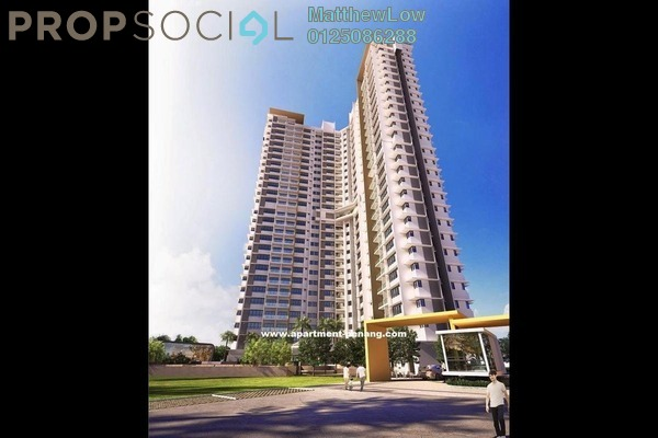 Condominium For Rent in The Signature, Perai Freehold Fully Furnished 3R/2B 1.85k