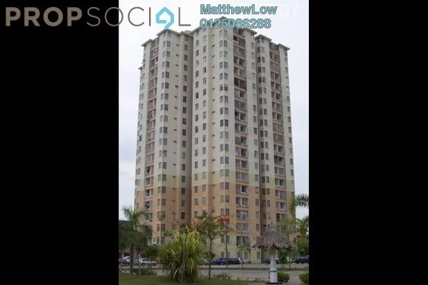 Condominium For Sale in Taman Bayu Mutiara, Bukit Mertajam Freehold Unfurnished 3R/2B 170k