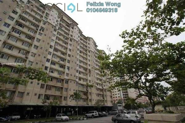 Condominium For Rent in Lestari Apartment, Bandar Sri Permaisuri Freehold Fully Furnished 3R/2B 1.5k