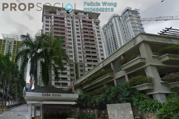 Condominium For Rent in Casa Kiara I, Mont Kiara Freehold Fully Furnished 3R/2B 2.5k
