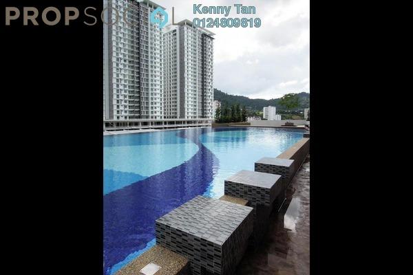 Condominium For Rent in Sierra Residences, Sungai Ara Freehold Semi Furnished 3R/2B 1k