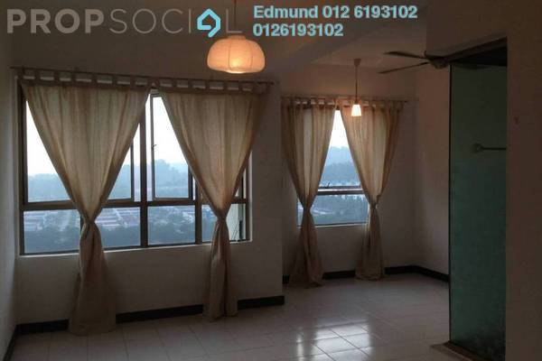Condominium For Rent in Ritze Perdana 1, Damansara Perdana Freehold semi_furnished 0R/1B 1.1k