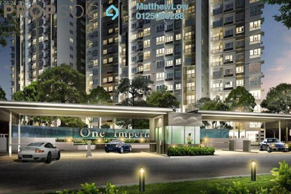 Condominium For Sale in One Imperial, Sungai Ara Freehold Unfurnished 3R/2B 520k