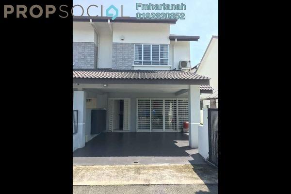 Terrace For Sale in Bandar Nusaputra, Puchong Freehold Unfurnished 4R/3B 650k