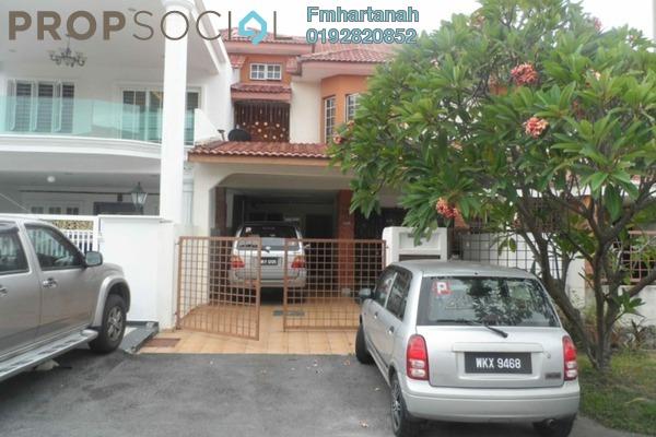 Terrace For Sale in BP10, Bandar Bukit Puchong Freehold Semi Furnished 4R/3B 690k