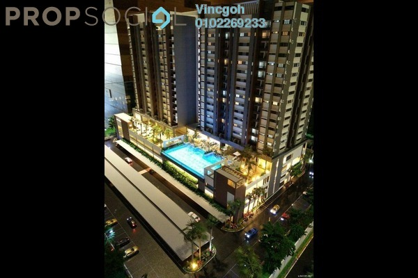 Condominium For Sale in Twin Palms, Bandar Sungai Long Freehold Unfurnished 3R/2B 390k