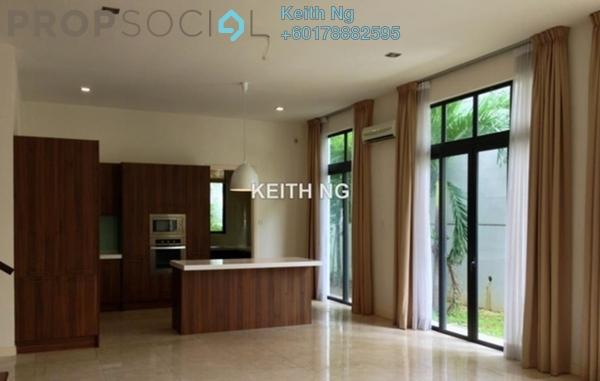 Semi-Detached For Rent in Serene Kiara, Mont Kiara Freehold Semi Furnished 5R/5B 11k