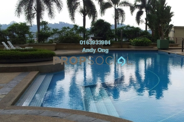 Serviced Residence For Rent in Amcorp Serviced Suites, Petaling Jaya Freehold Fully Furnished 0R/1B 1.5k