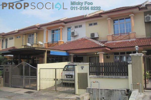 Terrace For Rent in Mahkota Walk, Bandar Mahkota Cheras Freehold Semi Furnished 3R/1B 1.2k