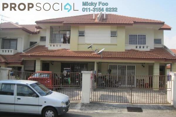 Terrace For Rent in Section 6, Bandar Mahkota Cheras Freehold Unfurnished 3R/2B 1.3k