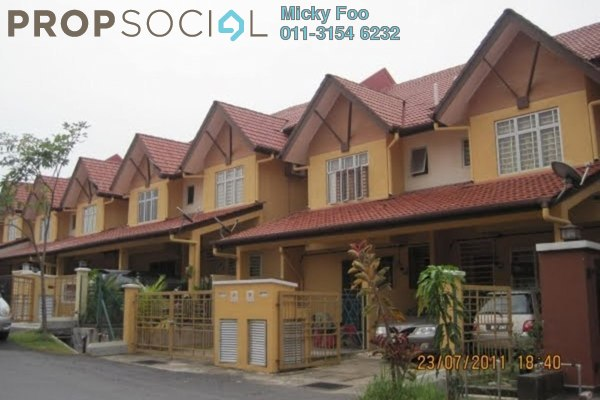 Terrace For Rent in Taman Puncak Saujana, Kajang Freehold Semi Furnished 4R/4B 1.3k