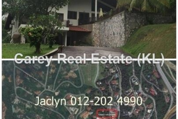 Bungalow For Sale in Bukit Tunku, Kenny Hills Freehold Semi Furnished 5R/4B 14.9m