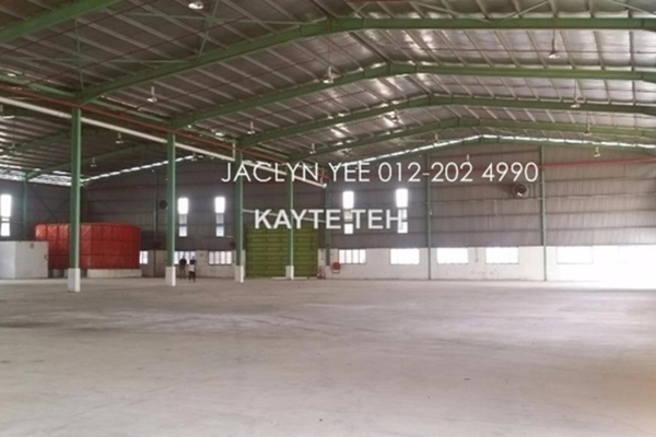Factory For Rent in Alam Jaya Industrial Park, Kuala Selangor Leasehold Unfurnished 0R/0B 48k