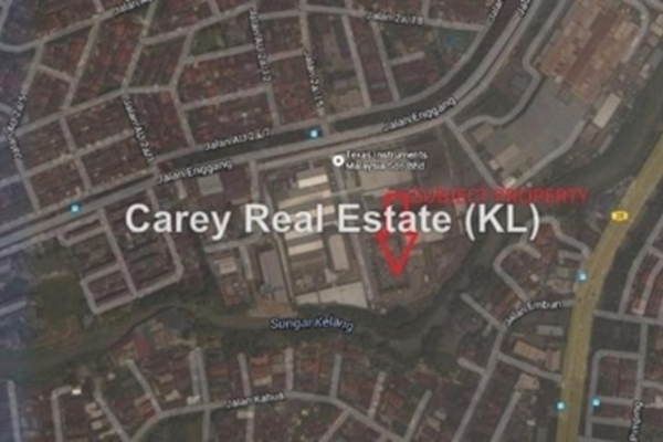 Factory For Rent in Taman Ampang Hilir, Ampang Leasehold Unfurnished 0R/0B 250k