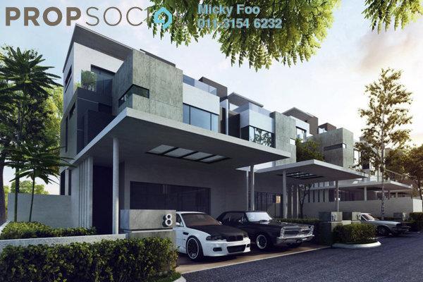 Terrace For Rent in Taman Sutera, Kajang Freehold Unfurnished 5R/5B 1.8k