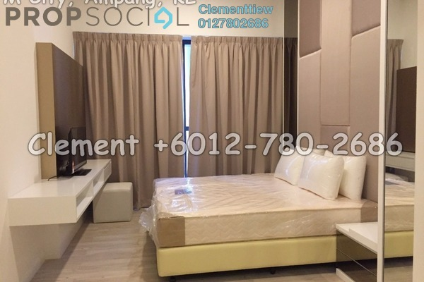 Condominium For Rent in M City, Ampang Hilir Freehold Fully Furnished 2R/2B 2.85k