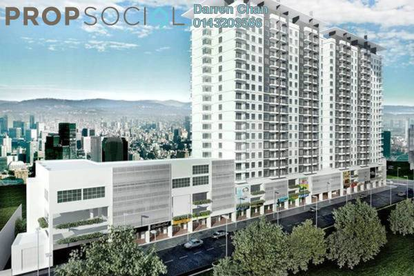 Condominium For Rent in Spring Avenue, Kuchai Lama Freehold Semi Furnished 3R/2B 1.5k