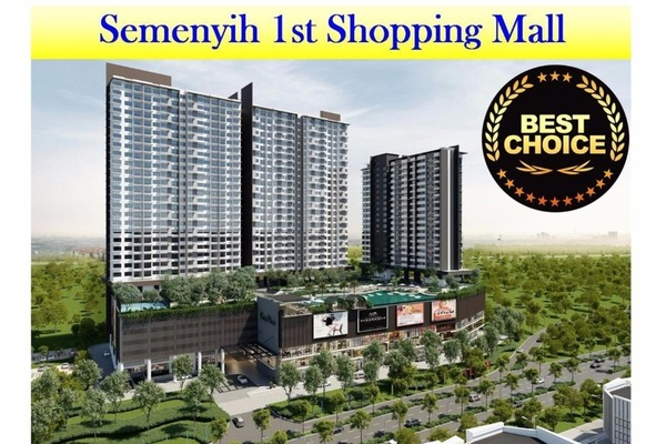 Serviced Residence For Sale in Kiara Plaza, Semenyih Freehold Unfurnished 3R/2B 388k