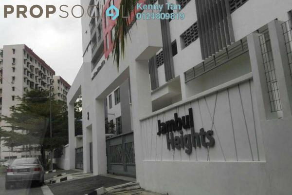 Apartment For Rent in Jambul Heights, Bukit Jambul Freehold Fully Furnished 3R/2B 1.2k