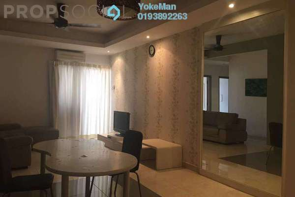 For Rent Condominium at Boulevard Residence, Bandar Utama Freehold Fully Furnished 3R/2B 2.1k
