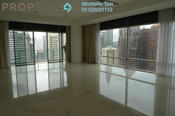 Condominium For Sale in Pavilion Residences, Bukit Bintang Freehold Semi Furnished 3R/5B 4.5m