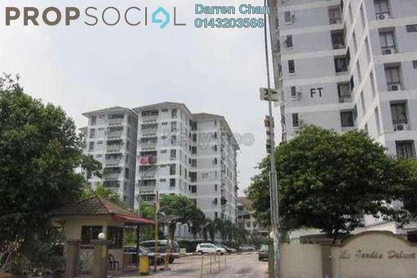 Condominium For Sale in Le Jardine, Pandan Indah Freehold Semi Furnished 3R/2B 425k