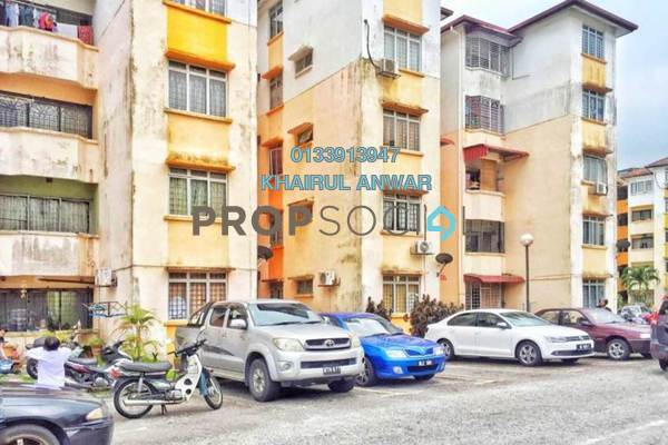 Apartment For Sale in Sri Melor Apartment, Ukay Freehold Semi Furnished 3R/2B 220k