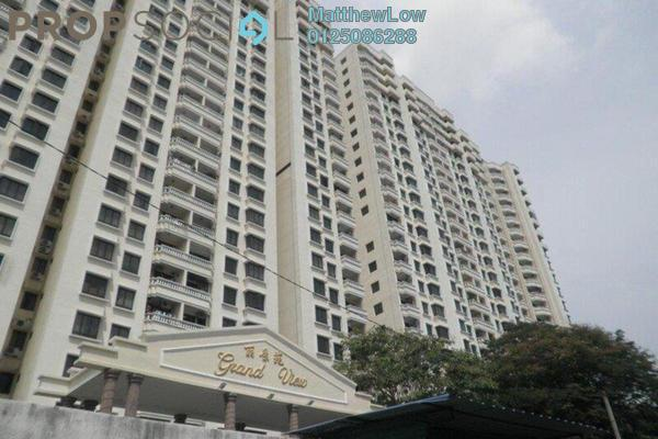 Condominium For Sale in Grand View, Tanjung Tokong Freehold Fully Furnished 3R/2B 650k