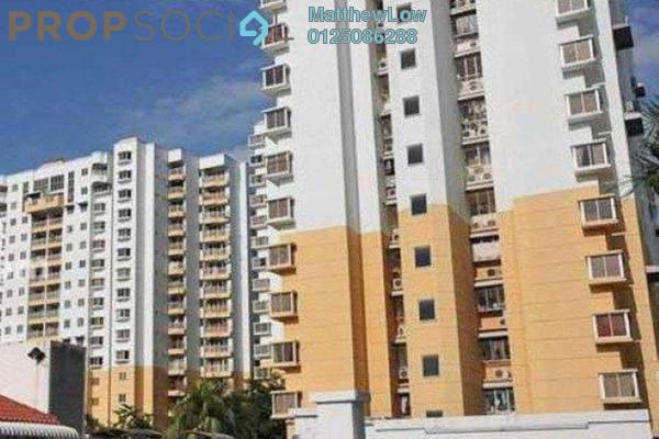 For Rent Condominium at Villa Emas, Bayan Indah Freehold Semi Furnished 3R/2B 1.3k