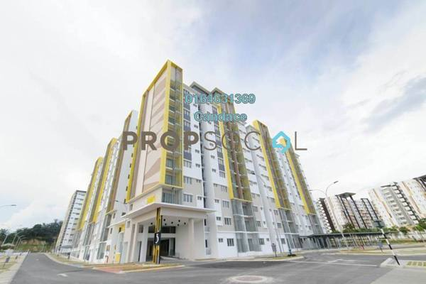 Apartment For Sale in Seri Pinang Apartment, Setia Alam Freehold Unfurnished 3R/2B 310k