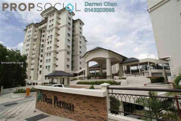 Condominium For Sale in Desa Permai, Taman Desa Freehold Fully Furnished 3R/2B 665k