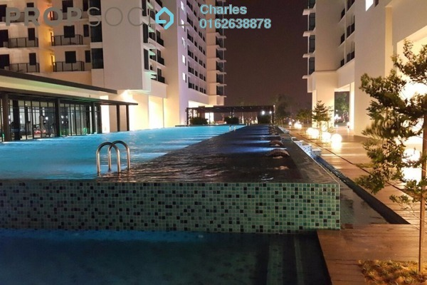 Condominium For Rent in Trefoil, Setia Alam Freehold Unfurnished 0R/1B 850translationmissing:en.pricing.unit