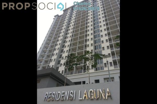 Condominium For Rent in Residensi Laguna, Bandar Sunway Freehold Semi Furnished 2R/2B 1.4k