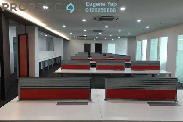 Office For Sale in Solaris Mont Kiara, Mont Kiara Freehold Semi Furnished 0R/2B 1.4m