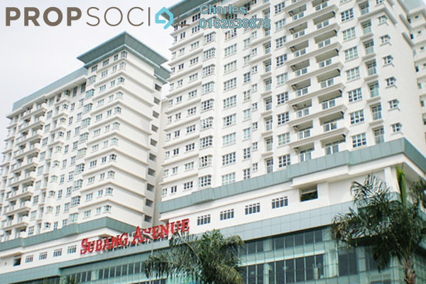Condominium For Rent in Subang Avenue, Subang Jaya Freehold Fully Furnished 3R/2B 2.6k