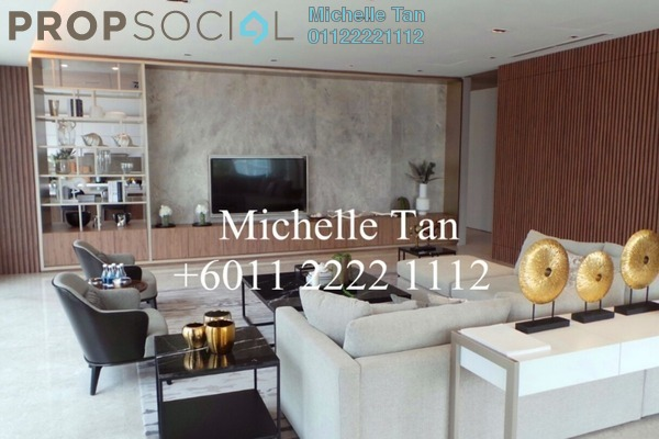 Condominium For Sale in The Oval, KLCC Freehold Semi Furnished 3R/4B 3.84m
