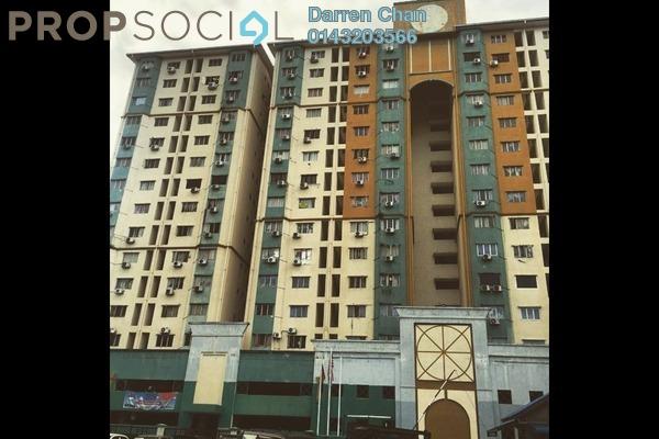 Condominium For Sale in Prisma Perdana, Cheras Freehold Semi Furnished 3R/2B 305k