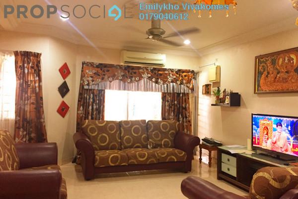 Terrace For Sale in Kemuning Greenville, Kota Kemuning Freehold Semi Furnished 4R/3B 575k